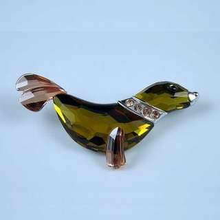 SWAROVSKI CRYSTAL PARADISE FISH AND SOUTH SEA - BROOCH CLEO 626209 海獅