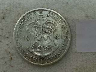 (#5)Suid Africa KGVi 1941, Two Shilling