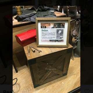 工業風收納椅