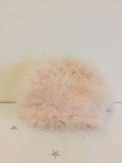 Brand New Nude Pink Fluffy Bag