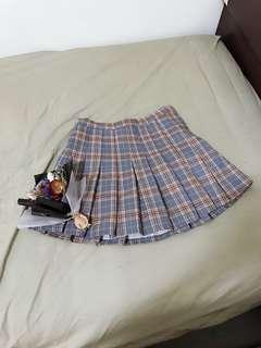🚚 青春洋溢學生風百褶裙