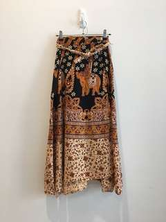 Wrap skirt - delivery fee included