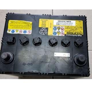 (二手中古電池) 馬自達原廠起停車專用(EFB) GSYUASA Q85-(同95D23L)汽車電池 數值漂亮,品項優