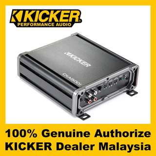 KICKER CX Mono Class D Amplifier, 600W - CXA600.1