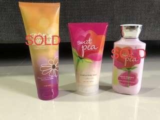 Bath & Body Works (BBW) Body Cream, Body Wash & Body Lotion *Brand New*