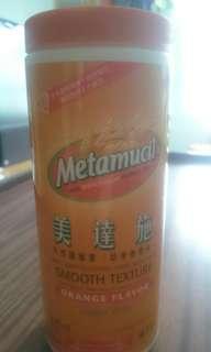 美達施Metamucil纖維粉 - 無糖幼滑橙味