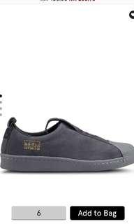 Authentic Adidas Originals Superstar bw35 Slip Ons