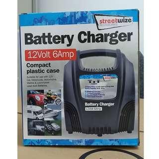 12V 6AMP 電池充電器