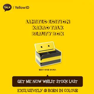 Macaron Beauty Box (Kakao Talk Yellow) - Limited Edition