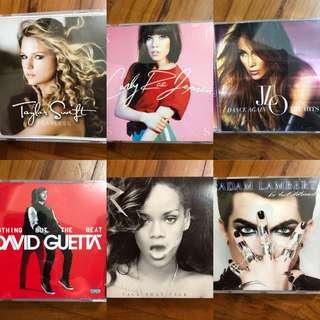 Taylor Swift, Rihanna, Adam Lambert, David Guetta, Jlo, Carly Rae Jepsen
