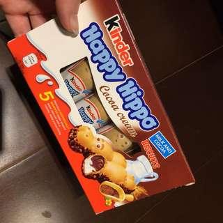 河馬巧克力餅乾KINDER