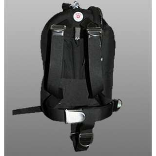 QTEC II BP/W with harness / Back Plate Harness Donut Wing