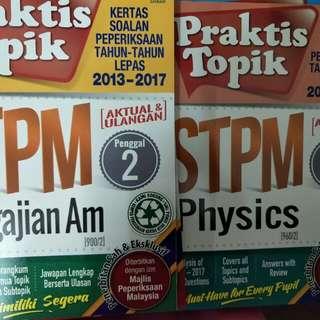 STPM WORKBOOKS