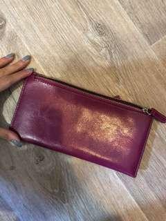 Purple Long Wallet