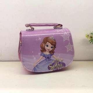 Disney Frozen Elsa Sophia My Melody Girl Handbags Sling Bags Wallets
