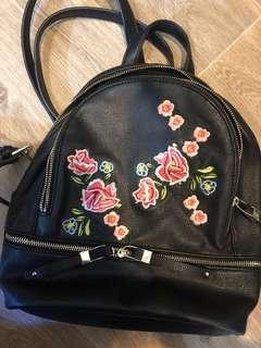 Forever New Floral Backpack