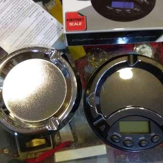 二合一煙灰盒加精密電子秤380元限來店買點我頭像看店址和上千種商品