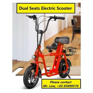Electric Scooter (2 or 3 Seaters)