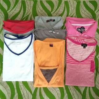 6 Pcs. Branded Tops Bundle A