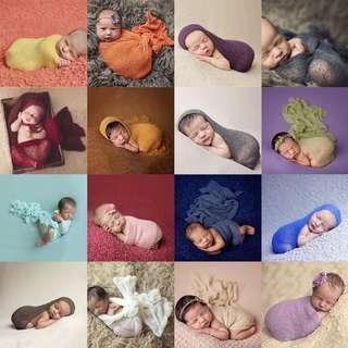 Newborn Stretch Knit Wraps