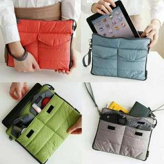 Ipad multi-purpose pouch