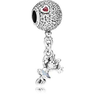 Disney Floating Minnie Pendant Charm
