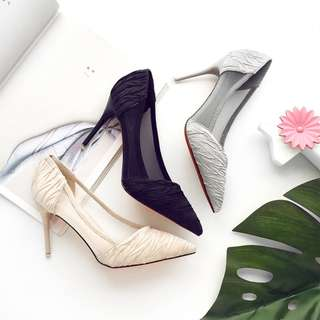 Shoes Collection - Office Lady Elegant Pointed High Heels