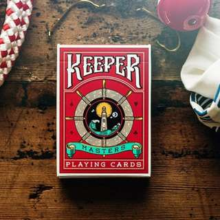 Red Keeper Playing Cards