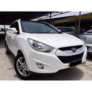 2011 Hyundai Tucson 2.0 (A) GLS SUNROOF PUSH START