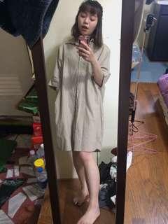 韓系長版衣