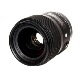 Rent: Sigma 35mm f/1.4 DG ART (canon/nikon mount)
