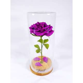 Enchanted Rose in Purple