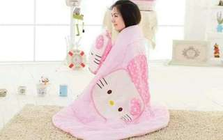 HELLO KITTY pillow/blanket 2in1