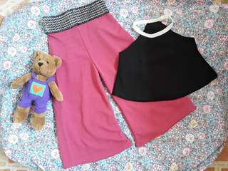 TOP & SQUARE PANTS TERNO