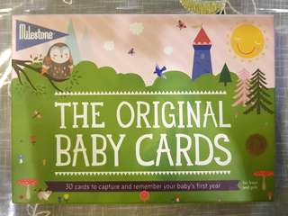 Milestone- The Original Baby Card
