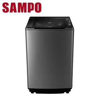 16公斤 SAMPO聲寶PICO PURE單槽變頻洗衣機(不銹鋼外箱) ES-JD16PS(S1)