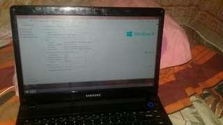 Dijual Laptop samsung intel 300e4c