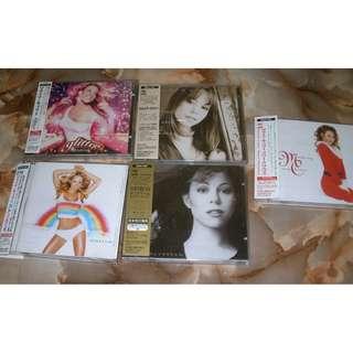 Mariah Carey CD's Japan Pressing