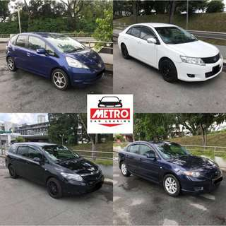 Cheapest Car Rental In Town! Grab / Corporate Company Welcome! LOW Deposit!