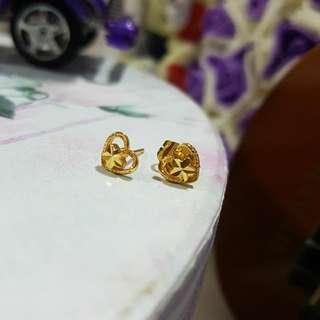 3 Pairs For $10 - Bangkok Fashion Gold Earrings