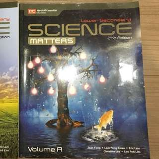 Science Matters (Lower Secondary)