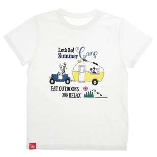 Japan Disneystore Disney Store Mickey Mouse & Friends LET'S GO CAMP Short Sleeve T-shirt