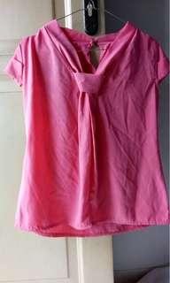 Atasan Wanita warna pink
