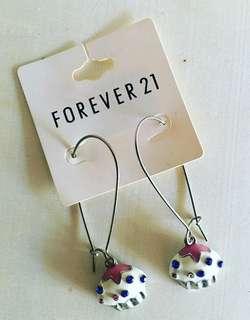F21 Cupcake Earrings