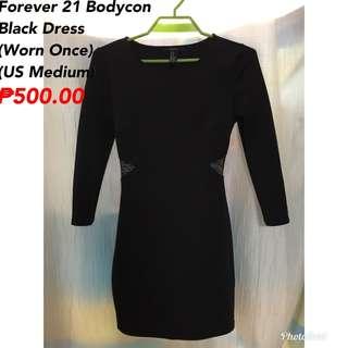 Pre-Loved Forever 21 Black Dress