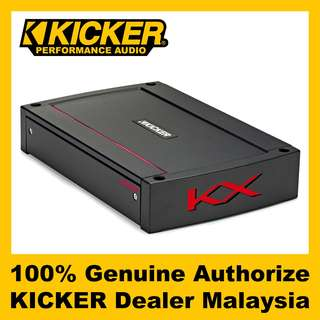 KICKER KX 4 Channel Class D Amplifier, 400W - KXA400.4