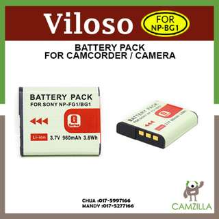 Viloso NP-BG1 Sony Battery For Sony Cybershot Digital Camera