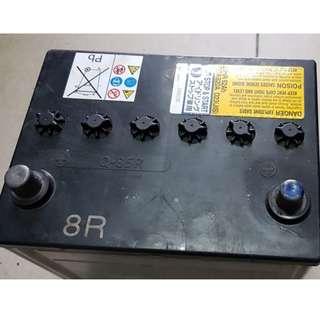 (二手中古電池) (起停車專用EFB) Panasonic Q85R(同95D23R)汽車電池 數值漂亮,品項優