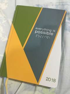 BDJ Eveythint is Possible Planner 2018