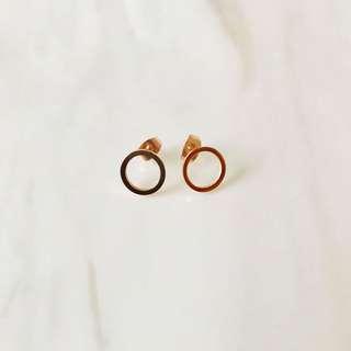 Rose Gold Earrings - Brand New